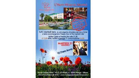 HAPPY HOUR al ROYAL GARDEN HOTEL_21 Giugno 2016