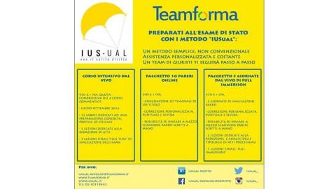 TEAMFORMA presenta il metodo formativo IUSUAL