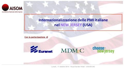 CdSOM_Internazionalizzare nel New Jersey (USA)