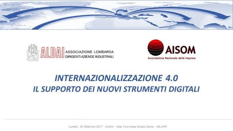 COMUNICATO_Internazionalizzazione 4.0_Milano_20 febbraio 2017