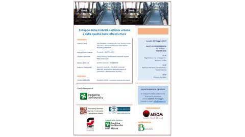 MONZA_29 maggio 2017_Sviluppo della mobilità verticale urbana e della qualità delle infrastrutture