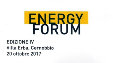 Energy Forum IV Edizione, 20-10-2017, Villa Erba Cernobbio Como