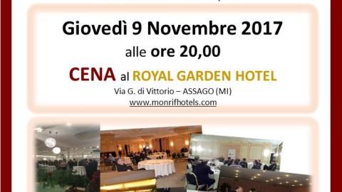 CdSOM_SERATA-CENA AISOM_ASSAGO_09.11.2017