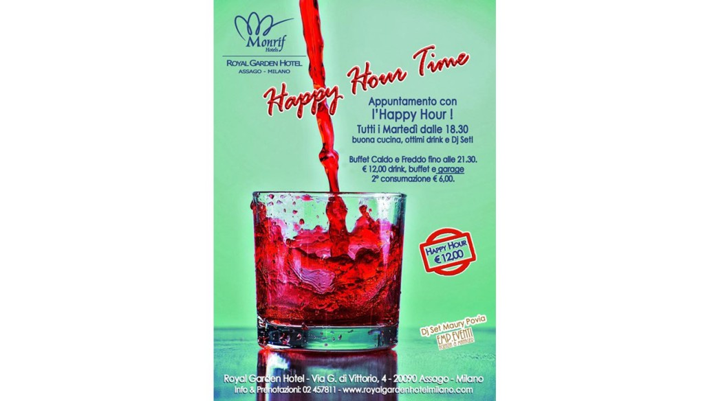 Happy Hour 26 Marzo 2018