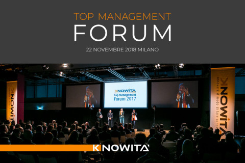 AISOM partner associativo della 12° Edizione del Top Management Forum_22 novembre 2018