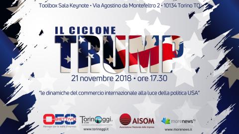 TORINO, 21 novembre 2018_IL CICLONE TRUMP