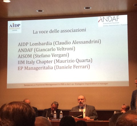 MILANO, 16 gennaio 2020_Temporary e Fractional Management in PMI e start up