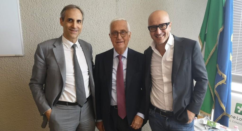 Fulvio-Mastrangelo-e-Cesare-Lombrassa-AISOM-con-Gianmarco-Senna-presidente-della-V-Commissione-1024x768 (1)