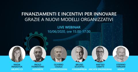 WEBINAR_10 GIUGNO 2020_Finanziamenti e Incentivi per Innovare