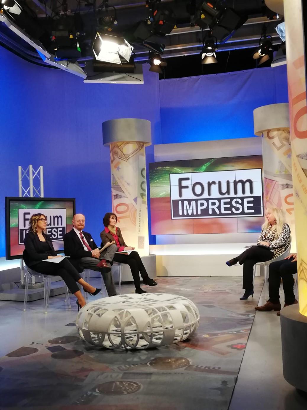 PHOTO-2019-11-07-09-14-27_1_E. BELLONI alla trasmissione TV Forum Imprese_07.11.2019