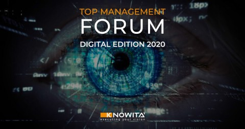 AISOM partner associativo della 14° Edizione del Top Management Forum_DIGITAL EDITION